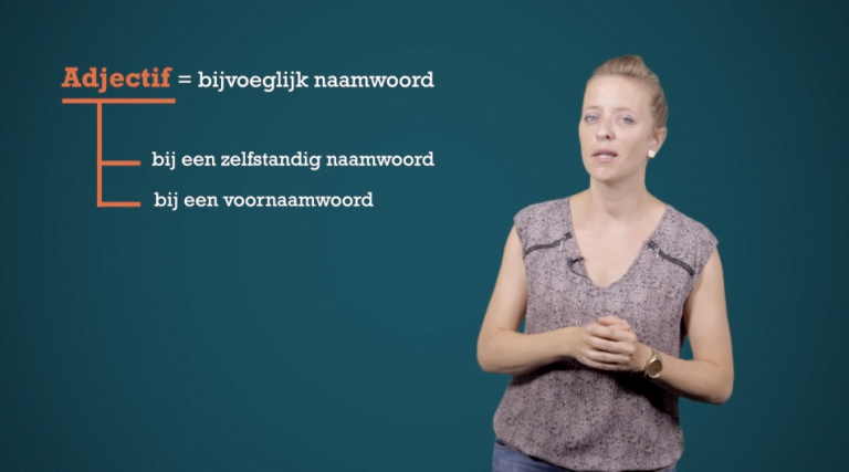 Wat is een adjectif?