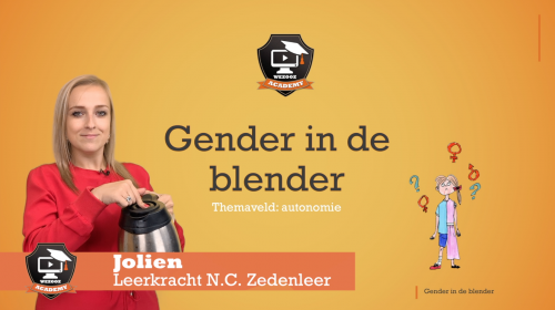 Video Gender in de blender - Zedenleer 1ste graad A