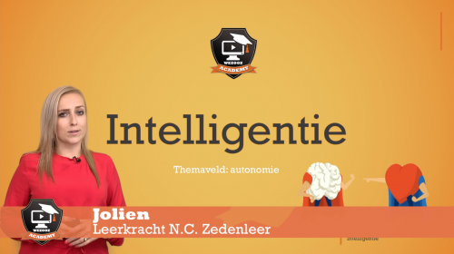Video Intelligentie - Zedenleer 1ste graad A